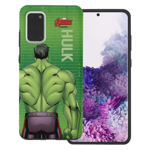 Galaxy Note20 Ultra Case (6.9inch) Marvel Avengers Layered Hybrid [TPU + PC] Bumper Cover - Back Huk