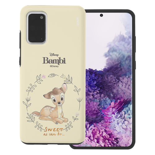 Galaxy S20 Case (6.2inch) Disney Bambi Layered Hybrid [TPU + PC] Bumper Cover - Full Bambi