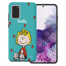 Load image into Gallery viewer, Galaxy S20 Ultra Case (6.9inch) PEANUTS Layered Hybrid [TPU + PC] Bumper Cover - Sally Heart Sit