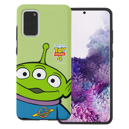 Galaxy S20 Plus Case (6.7inch) Toy Story Layered Hybrid [TPU + PC] Bumper Cover - Wide Alien