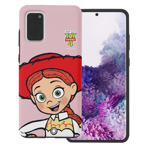 Galaxy S20 Plus Case (6.7inch) Toy Story Layered Hybrid [TPU + PC] Bumper Cover - Wide Jessie