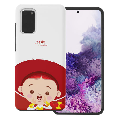 Galaxy S20 Plus Case (6.7inch) Toy Story Layered Hybrid [TPU + PC] Bumper Cover - Baby Jessie
