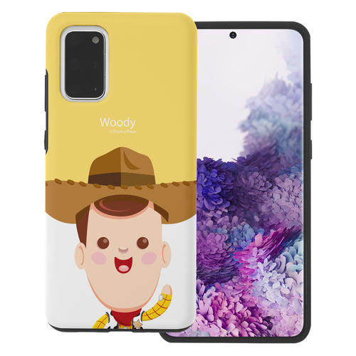 Galaxy S20 Plus Case (6.7inch) Toy Story Layered Hybrid [TPU + PC] Bumper Cover - Baby Woody