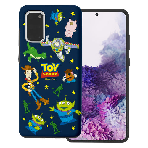 Galaxy S20 Plus Case (6.7inch) Toy Story Layered Hybrid [TPU + PC] Bumper Cover - Pattern Toy Story