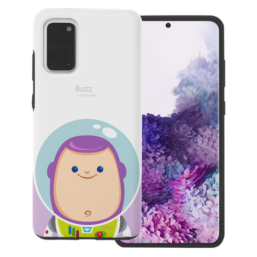 Galaxy S20 Plus Case (6.7inch) Toy Story Layered Hybrid [TPU + PC] Bumper Cover - Baby Buzz