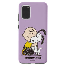Load image into Gallery viewer, Galaxy S20 Case (6.2inch) PEANUTS Layered Hybrid [TPU + PC] Bumper Cover - Hug Charlie Brown