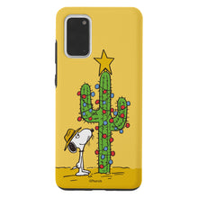 Load image into Gallery viewer, Galaxy S20 Ultra Case (6.9inch) PEANUTS Layered Hybrid [TPU + PC] Bumper Cover - Christmas Cactus Snoopy