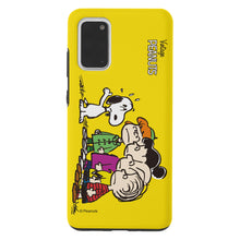 Load image into Gallery viewer, Galaxy S20 Ultra Case (6.9inch) PEANUTS Layered Hybrid [TPU + PC] Bumper Cover - Cute Snoopy Friends