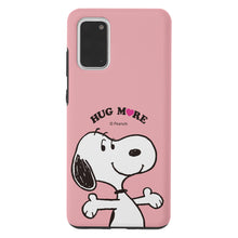 Load image into Gallery viewer, Galaxy S20 Ultra Case (6.9inch) PEANUTS Layered Hybrid [TPU + PC] Bumper Cover - Hug Snoopy