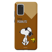 Load image into Gallery viewer, Galaxy S20 Ultra Case (6.9inch) PEANUTS Layered Hybrid [TPU + PC] Bumper Cover - Vivid Snoopy Woodstock