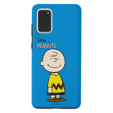 Load image into Gallery viewer, Galaxy S20 Ultra Case (6.9inch) PEANUTS Layered Hybrid [TPU + PC] Bumper Cover - Simple Charlie Brown