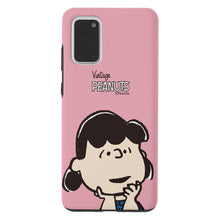 Load image into Gallery viewer, Galaxy S20 Case (6.2inch) PEANUTS Layered Hybrid [TPU + PC] Bumper Cover - Face Lucy