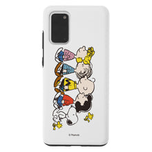 Load image into Gallery viewer, Galaxy S20 Case (6.2inch) PEANUTS Layered Hybrid [TPU + PC] Bumper Cover - Peanuts Friends Stand