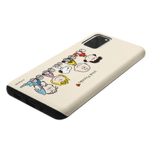 Load image into Gallery viewer, Galaxy S20 Case (6.2inch) PEANUTS Layered Hybrid [TPU + PC] Bumper Cover - Peanuts Friends Sit
