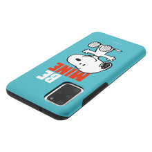 Load image into Gallery viewer, Galaxy S20 Plus Case (6.7inch) PEANUTS Layered Hybrid [TPU + PC] Bumper Cover - Snoopy Be Mine Cyan