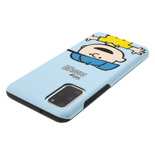 Load image into Gallery viewer, Galaxy S20 Plus Case (6.7inch) PEANUTS Layered Hybrid [TPU + PC] Bumper Cover - Face Charlie Brown