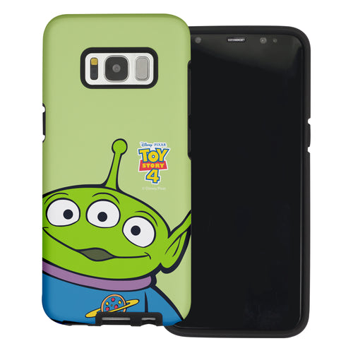 Galaxy S8 Plus Case Toy Story Layered Hybrid [TPU + PC] Bumper Cover - Wide Alien