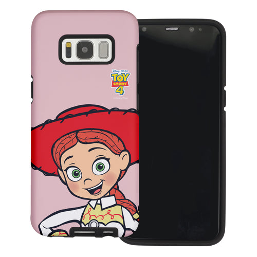 Galaxy S8 Plus Case Toy Story Layered Hybrid [TPU + PC] Bumper Cover - Wide Jessie