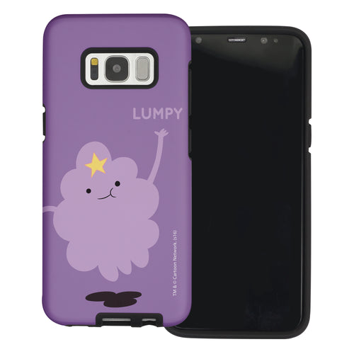 Galaxy Note4 Case Adventure Time Layered Hybrid [TPU + PC] Bumper Cover - Cuty Lumpy