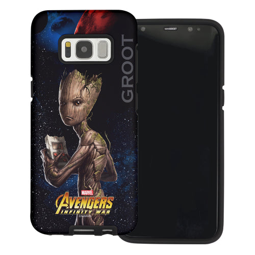 Galaxy S6 Edge Case Marvel Avengers Layered Hybrid [TPU + PC] Bumper Cover - War Grot