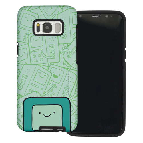 Galaxy Note4 Case Adventure Time Layered Hybrid [TPU + PC] Bumper Cover - Pattern BMO Big