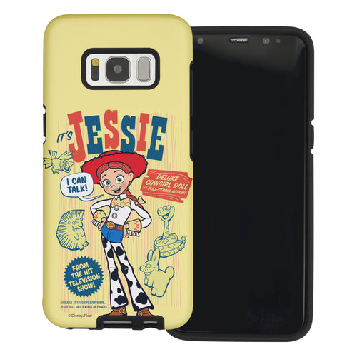 Galaxy S8 Plus Case Toy Story Layered Hybrid [TPU + PC] Bumper Cover - Full Jessie