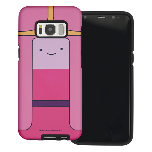 Galaxy Note4 Case Adventure Time Layered Hybrid [TPU + PC] Bumper Cover - Princess Bubblegum