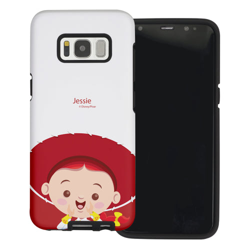 Galaxy S8 Plus Case Toy Story Layered Hybrid [TPU + PC] Bumper Cover - Baby Jessie