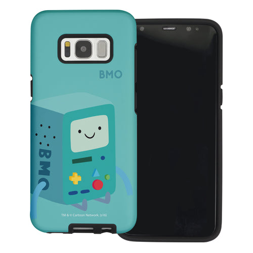 Galaxy Note4 Case Adventure Time Layered Hybrid [TPU + PC] Bumper Cover - Cuty BMO