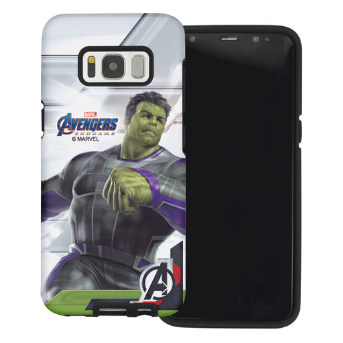 Galaxy S6 Case (5.1inch) Marvel Avengers Layered Hybrid [TPU + PC] Bumper Cover - Game Huk