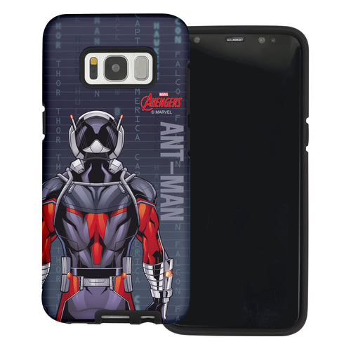 Galaxy S6 Edge Case Marvel Avengers Layered Hybrid [TPU + PC] Bumper Cover - Back Ant