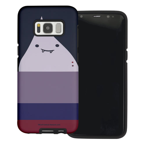 Galaxy S6 Edge Case Adventure Time Layered Hybrid [TPU + PC] Bumper Cover - Marceline Abadeer