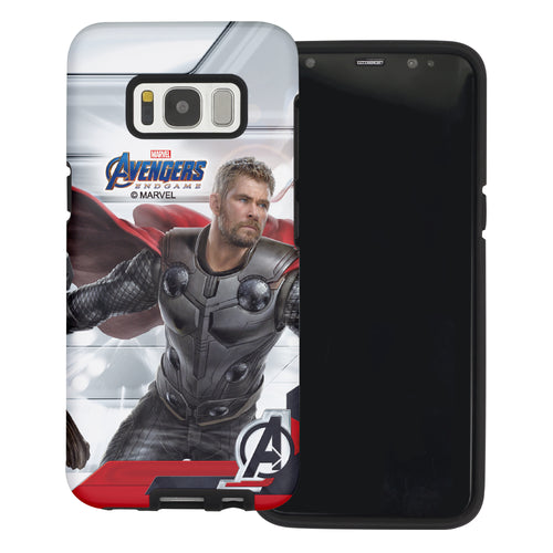 Galaxy S6 Case (5.1inch) Marvel Avengers Layered Hybrid [TPU + PC] Bumper Cover - Game Tho