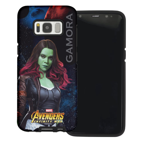 Galaxy S6 Case (5.1inch) Marvel Avengers Layered Hybrid [TPU + PC] Bumper Cover - War Gamra