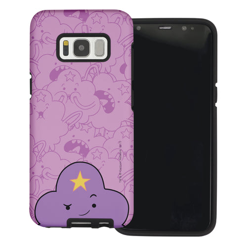 Galaxy Note4 Case Adventure Time Layered Hybrid [TPU + PC] Bumper Cover - Pattern Lumpy Big