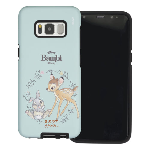 Galaxy Note5 Case Disney Bambi Layered Hybrid [TPU + PC] Bumper Cover - Full Bambi Thumper