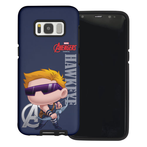 Galaxy S6 Case (5.1inch) Marvel Avengers Layered Hybrid [TPU + PC] Bumper Cover - Mini Hawk