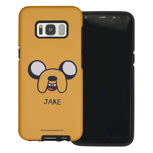 Galaxy Note4 Case Adventure Time Layered Hybrid [TPU + PC] Bumper Cover - Jake