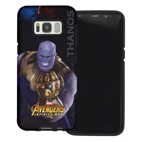 Galaxy S6 Case (5.1inch) Marvel Avengers Layered Hybrid [TPU + PC] Bumper Cover - War Thans