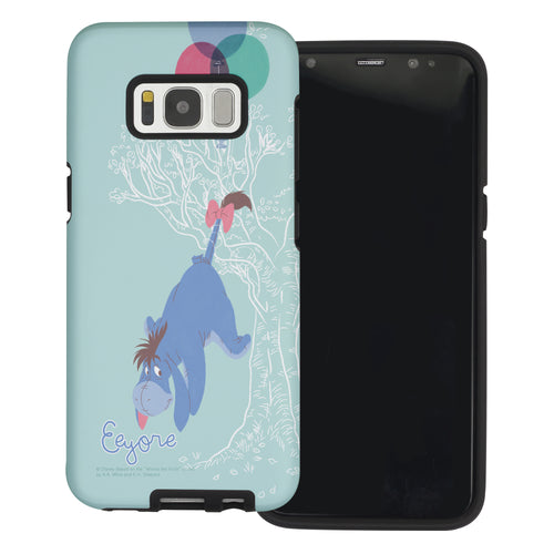 Galaxy Note5 Case Disney Pooh Layered Hybrid [TPU + PC] Bumper Cover - Balloon Eeyore