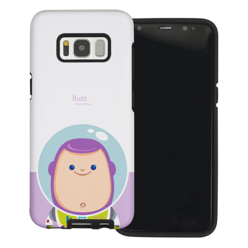 Galaxy S8 Plus Case Toy Story Layered Hybrid [TPU + PC] Bumper Cover - Baby Buzz