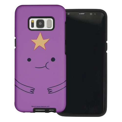Galaxy Note4 Case Adventure Time Layered Hybrid [TPU + PC] Bumper Cover - Lumpy