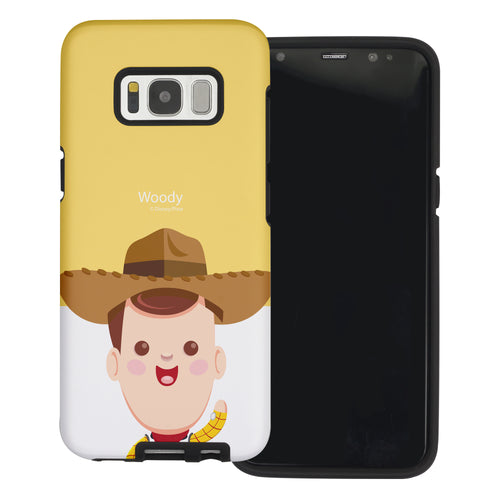 Galaxy S8 Plus Case Toy Story Layered Hybrid [TPU + PC] Bumper Cover - Baby Woody