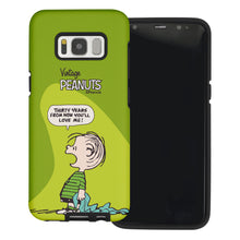Load image into Gallery viewer, Galaxy S7 Edge Case PEANUTS Layered Hybrid [TPU + PC] Bumper Cover - Cartoon Linus