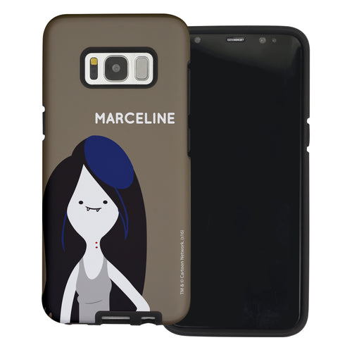 Galaxy S6 Edge Case Adventure Time Layered Hybrid [TPU + PC] Bumper Cover - Cuty Marceline
