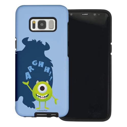 Galaxy S8 Plus Case Monsters University inc Layered Hybrid [TPU + PC] Bumper Cover - Simple Mike