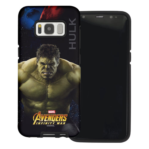 Galaxy S6 Case (5.1inch) Marvel Avengers Layered Hybrid [TPU + PC] Bumper Cover - War Huk