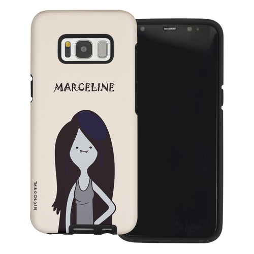 Galaxy S6 Edge Case Adventure Time Layered Hybrid [TPU + PC] Bumper Cover - Lovely Marceline