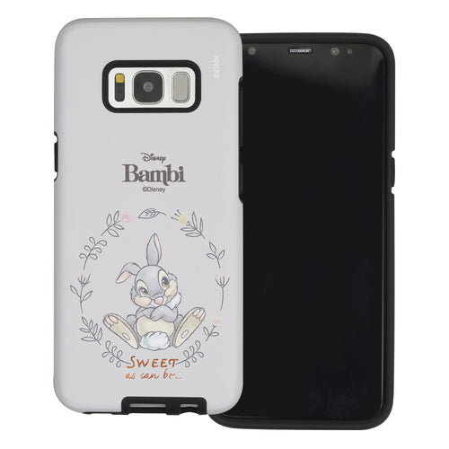 Galaxy S8 Plus Case Disney Bambi Layered Hybrid [TPU + PC] Bumper Cover - Full Thumper