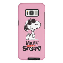 Load image into Gallery viewer, Galaxy S8 Plus Case PEANUTS Layered Hybrid [TPU + PC] Bumper Cover - Snoopy Face Baby pink